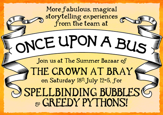 Once Upon a Bus ~ Storytelling with Bubbles